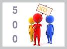 Как увеличить посещаемость более 500 человек в сутки