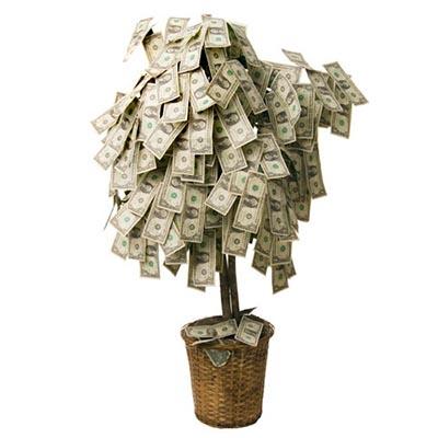 горшок денег в доме