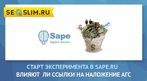 эксперимент с биржей sape