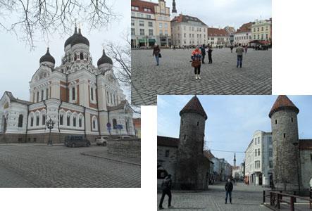 Собор и площадь в Таллине