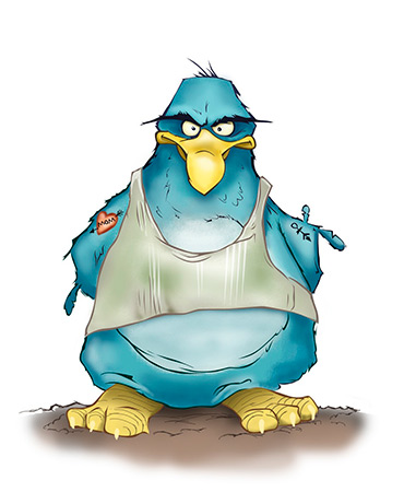 Твиттер микроблог