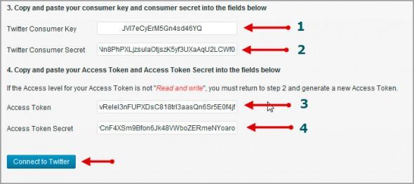 Аутентификация в твиттере шаг 8