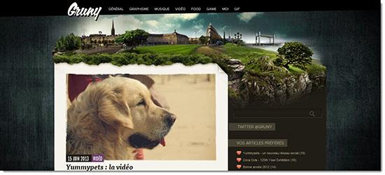 Самые красивые сайты Мира и Рунета - подборка дизайнов