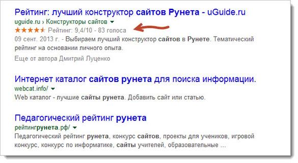 ТОП выдача Google