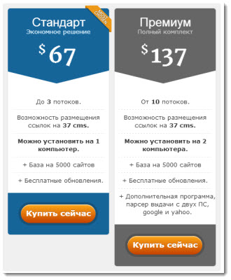 стоимость программы xneolinks