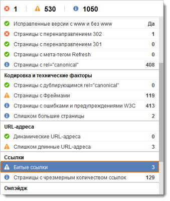 программа WebSite Auditor
