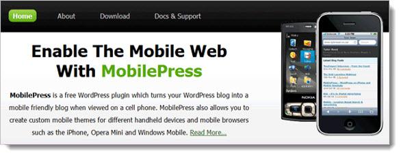 Плагин MobilePress