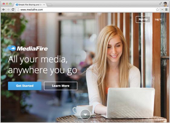 сервис хранения данных MediaFire