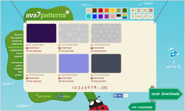 сайт Ava7Patterns