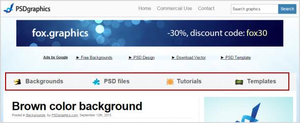 сервис PSD графики PSDGraphics