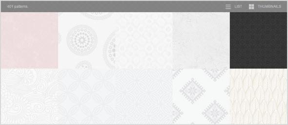 выбор фонов от Subtle Patterns