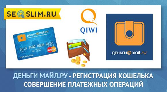 Электронный кошелек от Деньги Майл.Ру