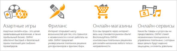 преимущества OkPay