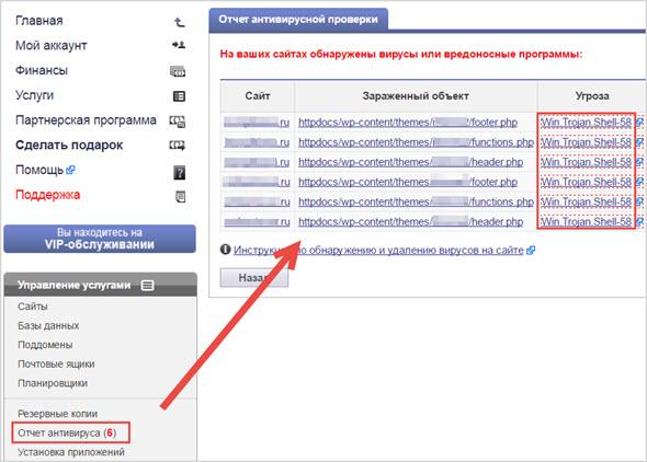 Макхост проверка сайтов на вирусы