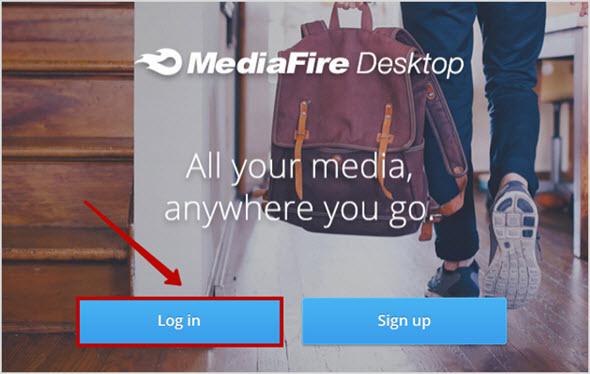 вход в облачный диск MediaFire