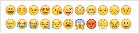 пример смайлов Emoji