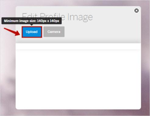 загрузка изображения с ПК