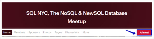 как вступить в группу Meetup