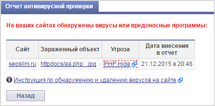 вирус PHP.Hide