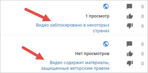 видео содержит материалы, защищенные авторским правом