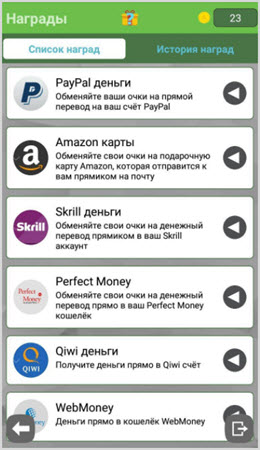 способы вывода денег из приложения