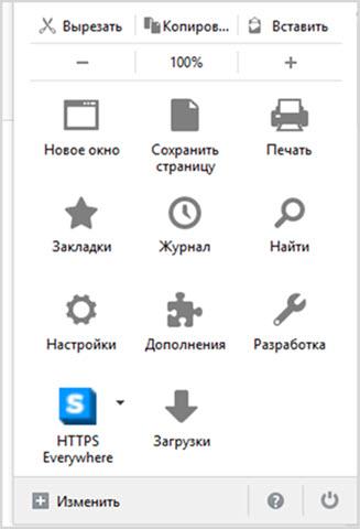 Схожесть с Mozilla Firefox
