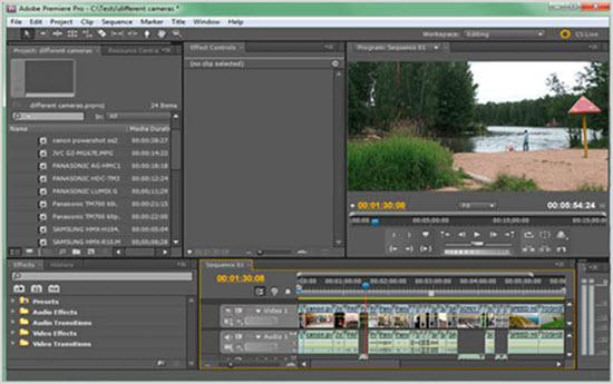программа Premiere Pro