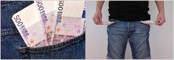 карманы денег