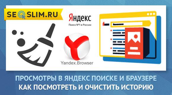 Как посмотреть просмотры в поиске Яндекс и браузере