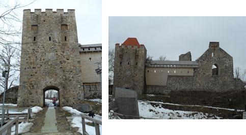 Путешествие в Латвию Новый замок