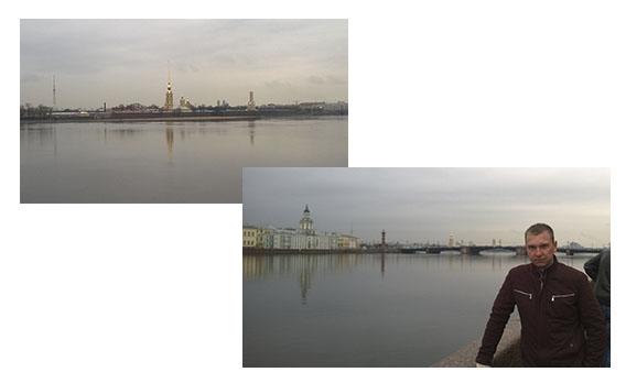 река Нева в Питере