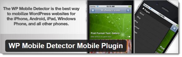 Плагин WP Mobile Detector