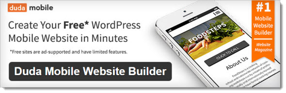 Плагин Duda Mobile Website Builder