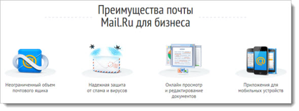 домен в Mail