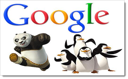 Фильтры Google: Пингвин и Панда