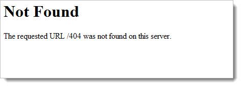 404 not found  - страница не найдена