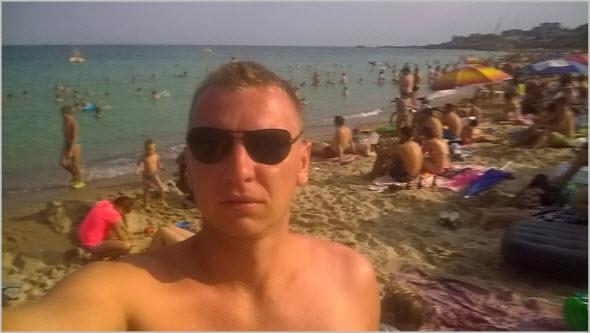 центральный пляж Ильичевска