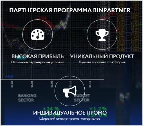 обзор партнерки BinPartner