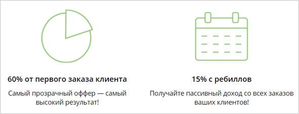 доход вебмастера Studybay