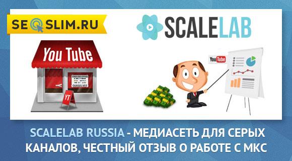 Монетизация серых каналов парнтерка scalelab