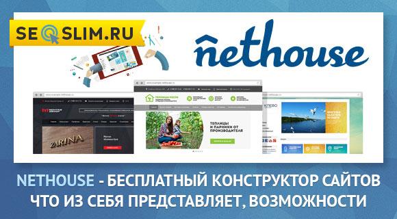 Обзор продвинутого конструктора проектов Нетхаус