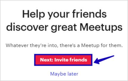 поиск друзей в метап