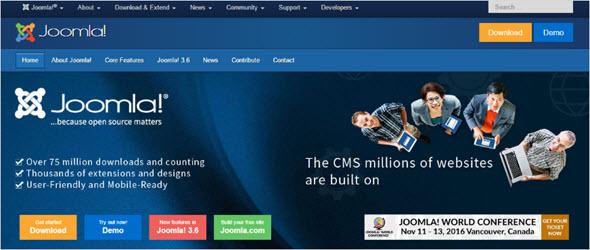 Система управления сайтом Джумла