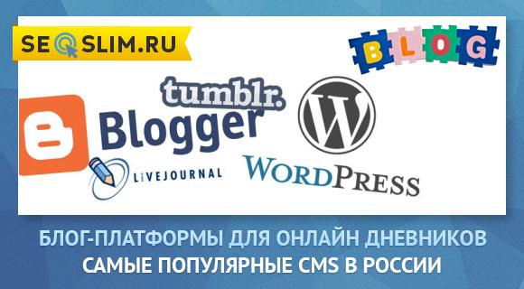 Лучшая платформа для блога