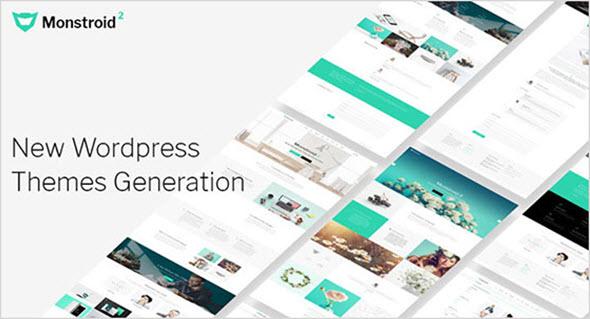 универсальный WordPress шаблон