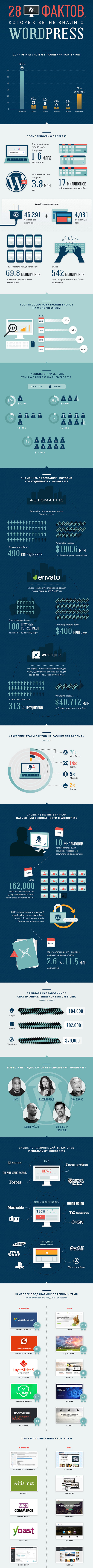 инфографика 28 фактов о ВП