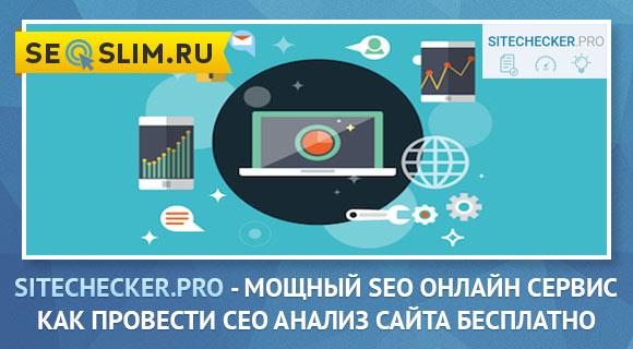 Обзор сервиса Sitechecker.Pro