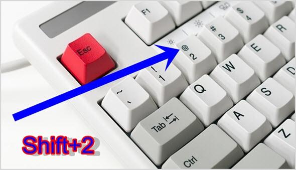 кнопки клавиатуры