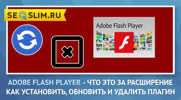 Что такоеAdobe Flash Player как его обновить и удалить