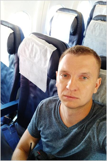 Я в самолете